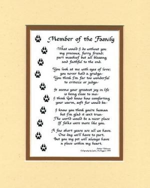 ... Decore Cat, Doggie Stuff, Dog Poems, Families Dogs, Cat Poems, Members