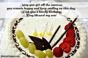 Birthday Quotes For Son Turning 2 ~ Birthday Wishes For Son - Page 3