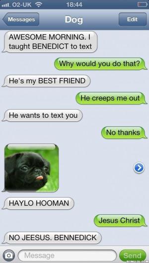 My Best Friend Text Now