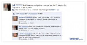 Related to Funny messages, text sms facebook status questions wishes