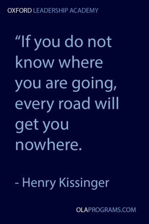 Inspirational #quote from Henry Kissinger