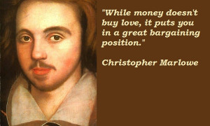 Christopher Marlowe's quote #5