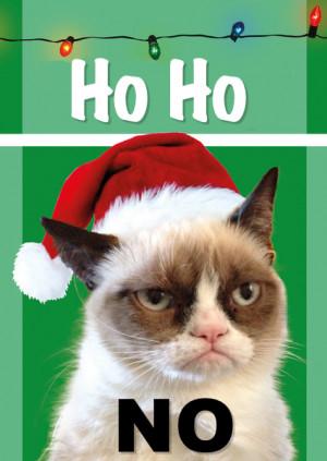 Grumpy Cat Christmas 2013