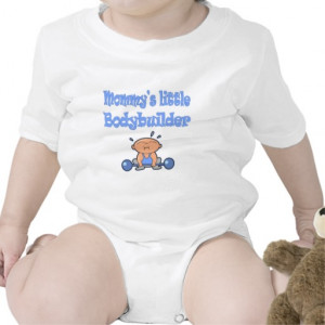 Bodybuilding Mommys Little Bodybuilder Boy Sport Rompers