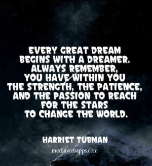 ... You Have Within You The Strength…. - Harriet Tubman ~ Change Quotes
