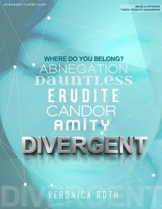 Look what i found:DIVERGENT MANIFESTO WE do not fit in with society WE ...