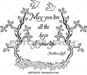 ... life, love, ornaments, proverb, quote, word, View Large Clip Art