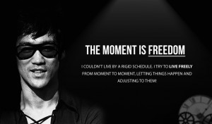 quotes about bruce lee fighting