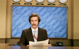 Will Ferrell as Ron Burgundy in Anchorman Photo: AP