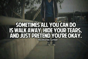 When People Walk Away Quotes