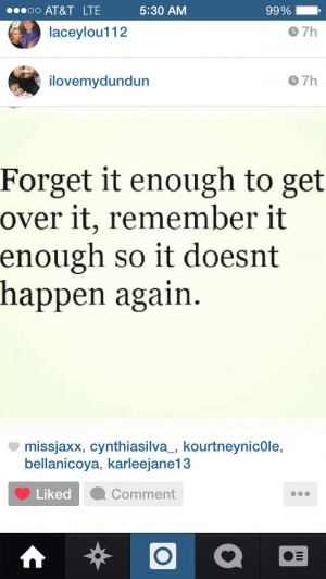 Forget it quote