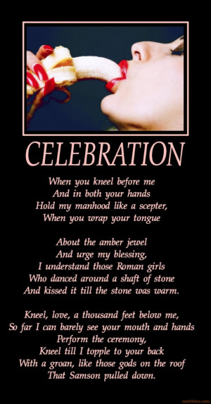 Celebration A Poem By Leonard Cohen picture