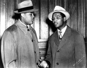Jack Johnson and Sugar Ray Robinson