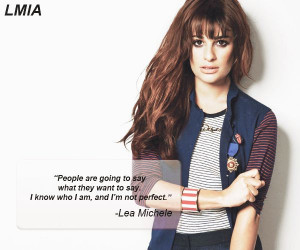 Lea Michele quote