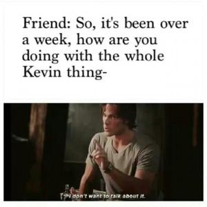 Supernatural Kevin is dead