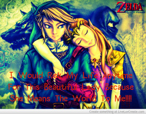 Gamer Love Zelda