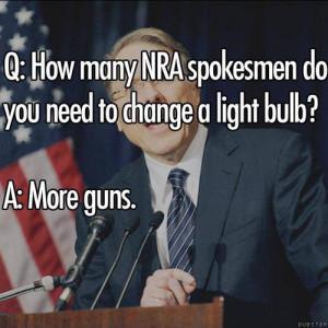 Funny Anti-Gun Memes and Quotes