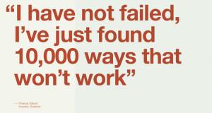 Wanna Create A Great Product? Fail Early, Fail Fast, Fail Often
