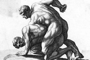 Ancient Greco Roman Wrestling