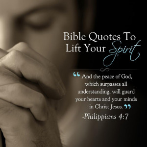 Bible Quotes To Lift Your Spirit Follow us at http://gplus.to ...