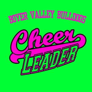 Basketball Cheer Shirt, pink on lime