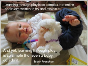 learning thru play