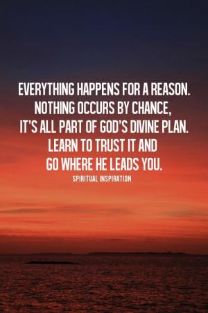 Life Plans Quotes Divine plan