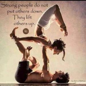 Quote, yoga pose, lift