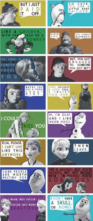 Frozen Quotes The perfect pin for tonight since me and @brandon2895 ...