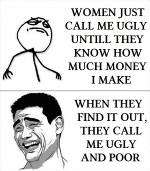 funny meme women call me ugly understanding women advanced level