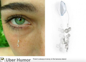 WTF: Contact lens jewelry. Why are people so stupid