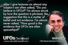 carl sagan ufo quote more aliens quotes ufo quotes 1