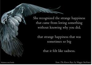 ... felt like sadness.