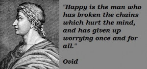 Ovid Quotes