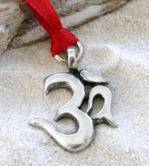 Ohm Yoga Buddhist Christmas Ornament
