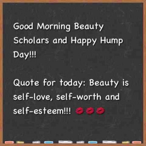Wednesday Morning Beauty Quote