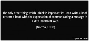 More Norton Juster Quotes