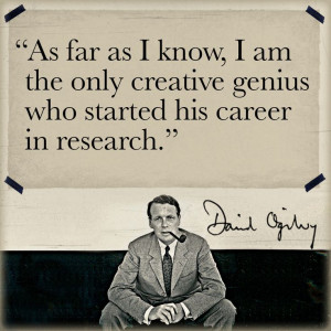 ... genius who started his career in research.