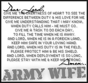 Army Strong... God Strong!