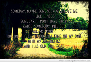 Old Dirt Road-the Wreckers