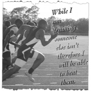 Track And Field Running Quotes