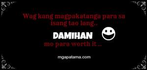 quotes about Patama, pinoy quotes, patama quotes sa mga ex, patama sa ...