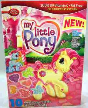 My Little Pony Fruit Snacks