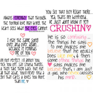 Cute Crush Quotes And Sayings For Him #1