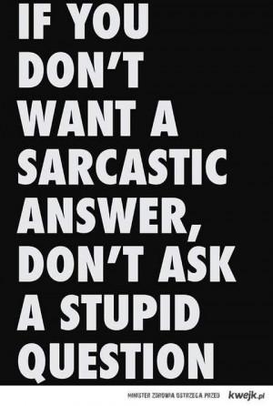 sarcasm.... For @kaylaStone