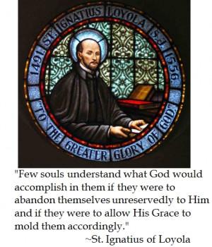 St. Ignatius Loyola on Theology