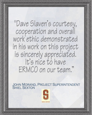 John Morand, Project Superintendent - Shiel Sexton