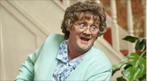 Brendan O'Carroll is Mrs Brown