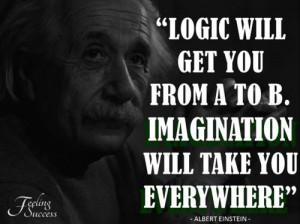 Quotes By Albert Einstein About Imagination ~ Albert Einstein | Lina ...