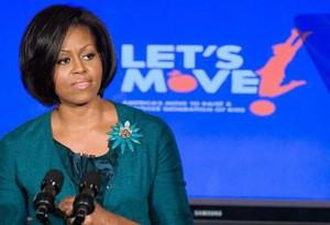 Michelle Obama Let's Move Program
